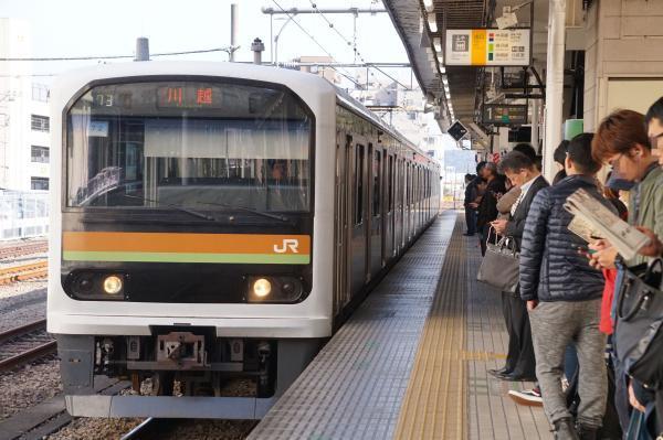 2017-11-13 八高線209系ハエ72編成 川越行き