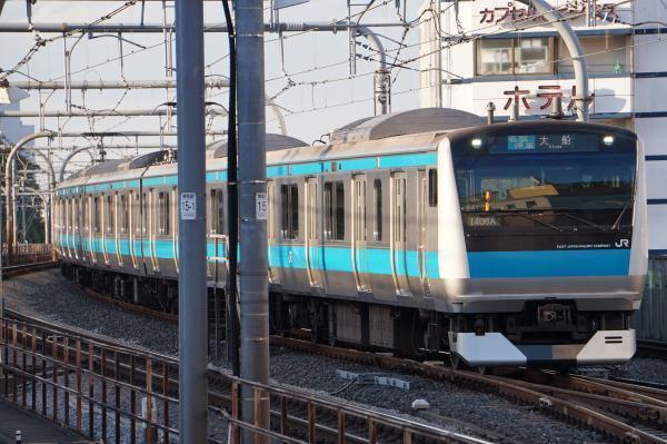 2017-11-19 京浜東北線E233系サイ141編成 各駅停車大船行き1