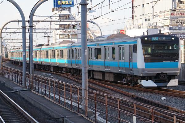 2017-11-19 京浜東北線E233系サイ141編成 各駅停車大船行き2