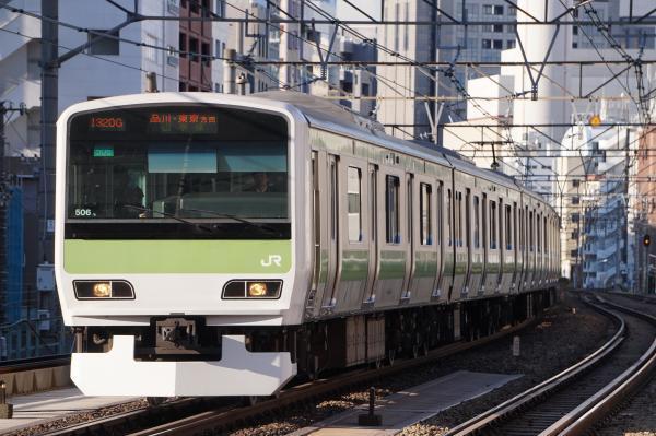 2017-11-19 山手線E231系トウ506編成 品川・東京方面行き