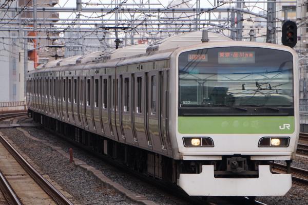 2017-11-19 山手線E231系トウ522編成 東京・品川方面行き