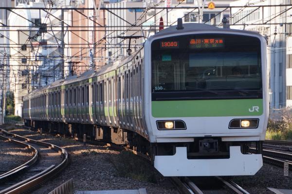 2017-11-19 山手線E231系トウ530編成 品川・東京方面行き
