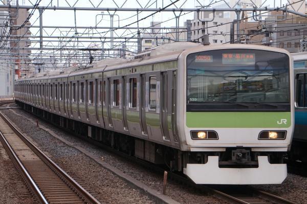 2017-11-19 山手線E231系トウ539編成 東京・品川方面行き