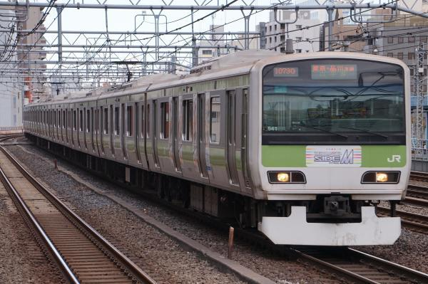 2017-11-19 山手線E231系トウ541編成 東京・品川方面行き