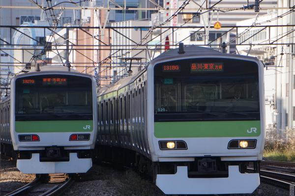 2017-11-19 山手線E231系トウ545編成 トウ525編成