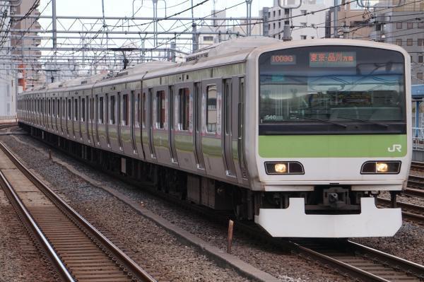 2017-11-19 山手線E231系トウ546編成 東京・品川方面行き
