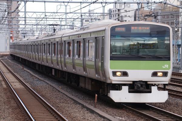2017-11-19 山手線E231系トウ547編成 東京・品川方面行き