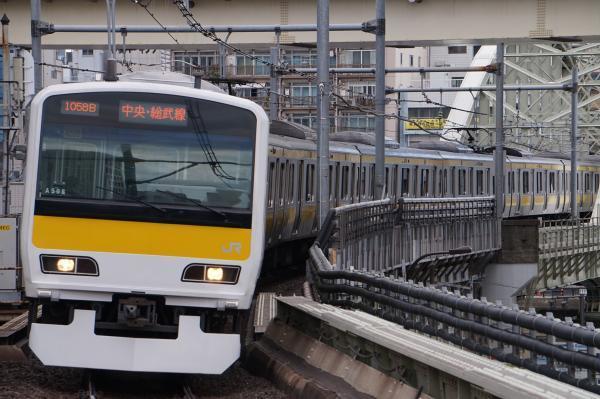 2017-11-19 総武線E231系ミツA508編成 津田沼行き