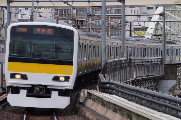 2017-11-19 総武線E231系ミツA510編成 津田沼行き