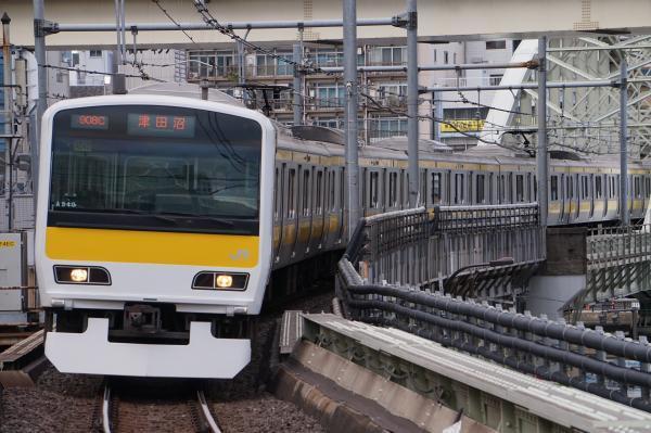2017-11-19 総武線E231系ミツA540編成 津田沼行き