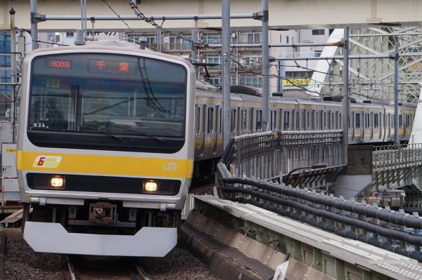 2017-11-19 総武線E231系ミツB24編成 千葉行き