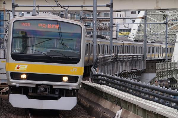2017-11-19 総武線E231系ミツB26編成 千葉行き