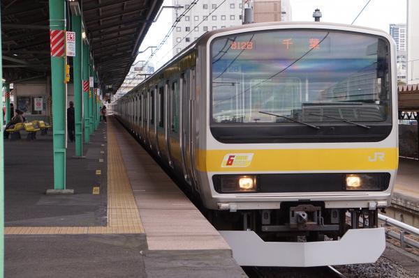 2017-11-19 総武線E231系ミツB28編成 千葉行き2