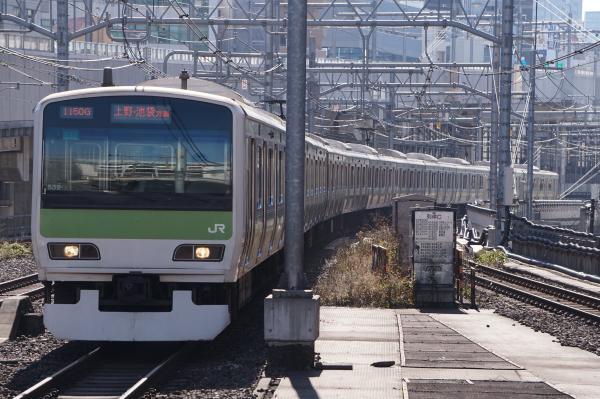 2017-11-25 山手線E231系トウ532編成 上野・池袋方面行き