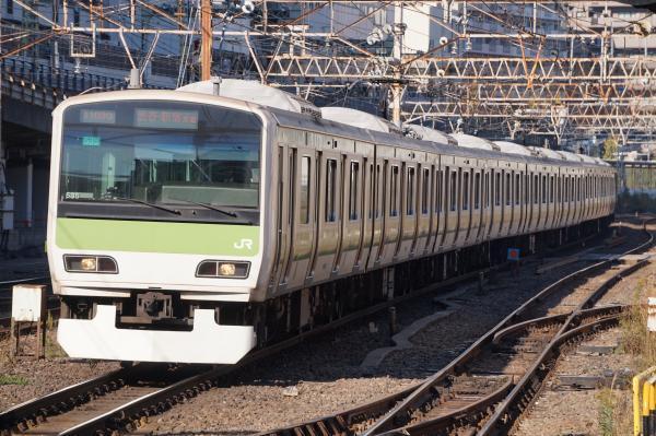 2017-11-25 山手線E231系トウ535編成 渋谷・新宿方面行き
