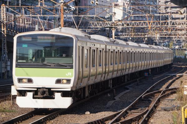 2017-11-25 山手線E231系トウ545編成 渋谷・新宿方面行き