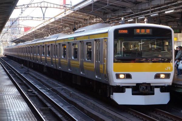 2017-11-25 総武線E231系ミツA509編成 津田沼行き