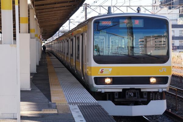 2017-11-25 総武線E231系ミツB17編成 千葉行き2