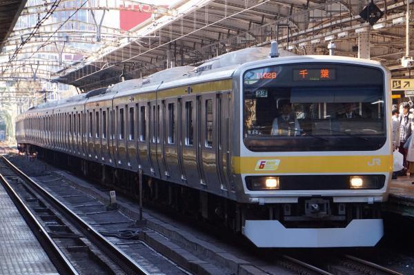 2017-11-25 総武線E231系ミツB23編成 千葉行き