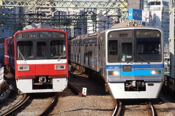 2017-11-25 京急1545F 北総7808F