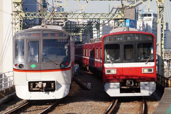 2017-11-25 都営5321F 京急1545F