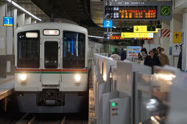 2017-11-25 西武4019F_4011F 回送 2004レ