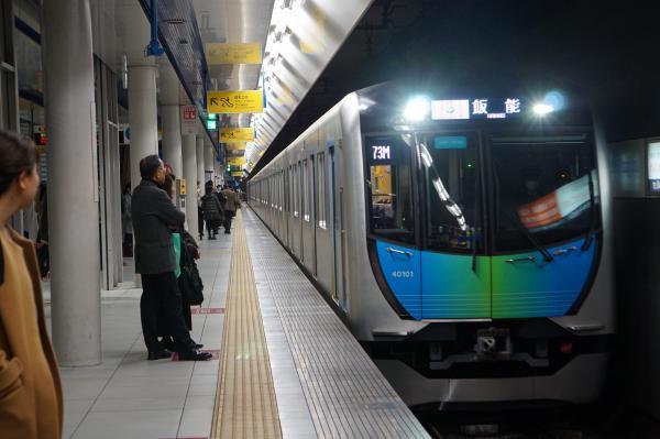 2017-11-25 西武40101F S-TRAIN飯能行き