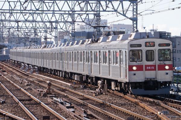 2017-12-09 東急8615F 各停渋谷行き
