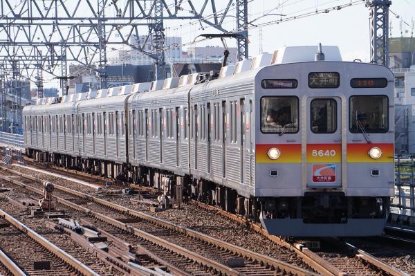 2017-12-09 東急8640F 各停大井町行き