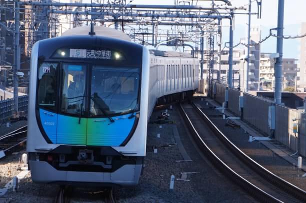 2017-12-17 西武40102F S-TRAIN元町・中華街行き 402レ