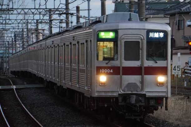 2017-12-17 東武11004F 準急川越市行き