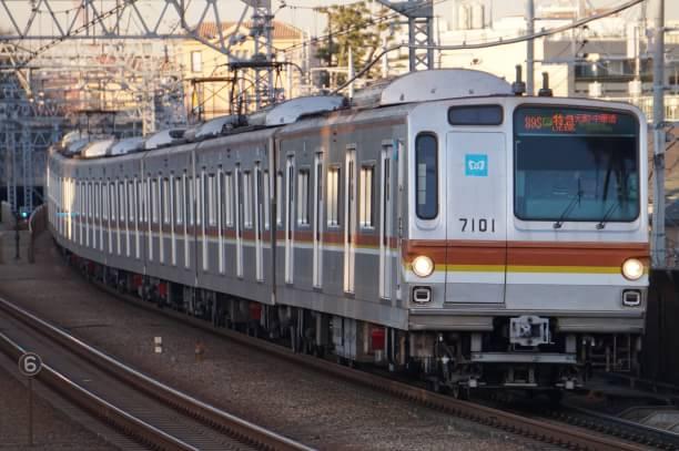 2017-12-20 メトロ7101F F特急元町・中華街行き
