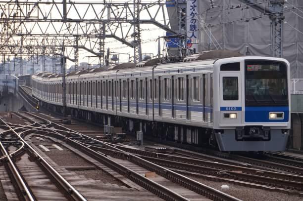 2017-12-20 西武6103F F特急飯能行き