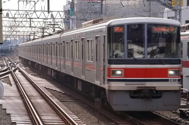 2017-12-20 東急3012F 急行鳩ヶ谷行き