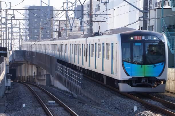 2017-12-21 西武40102F 急行飯能行き 2129レ
