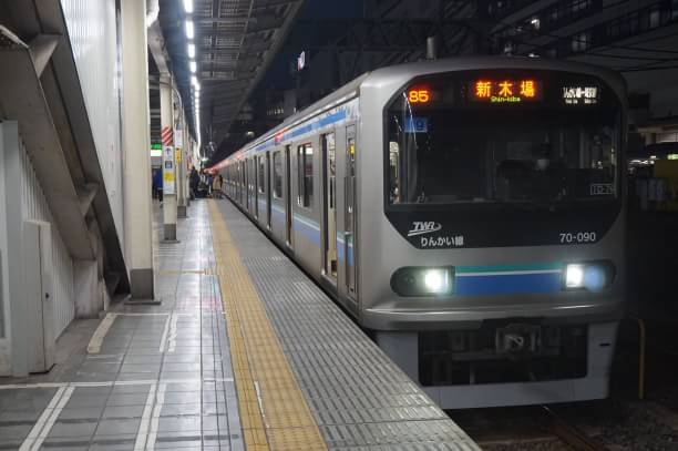 2017-12-23 Z9編成 新木場行き