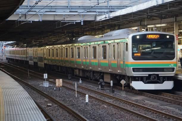 2017-12-23 コツK-35編成 上野東京ライン熱海行き