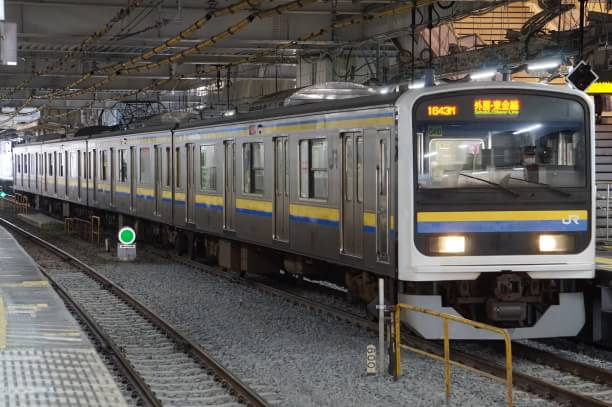 2017-12-23 マリC410編成 成東行き