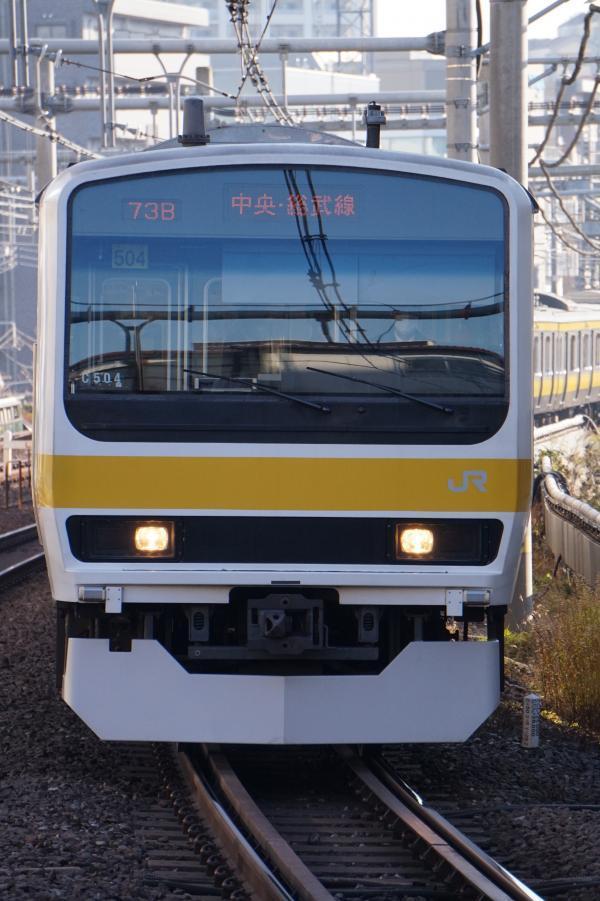 2017-12-23 ミツC504編成 三鷹行き