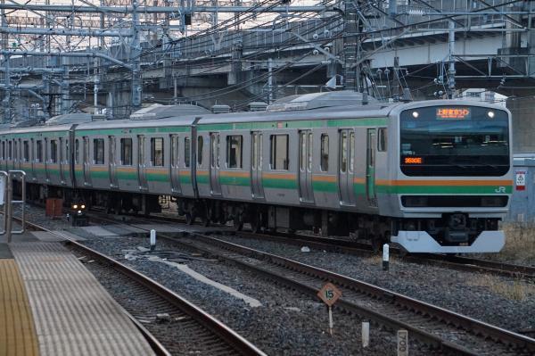 2017-12-23 ヤマU-113編成 上野東京ライン小金井行き