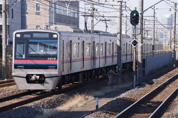 2017-12-23 京成3019F 普通ちはら台行き