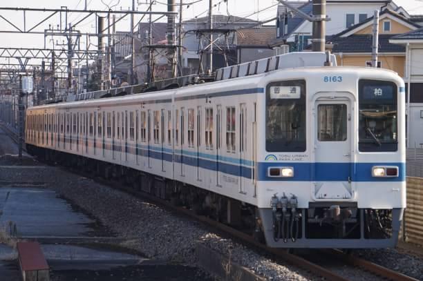 2017-12-23 東武8163F 普通柏行き