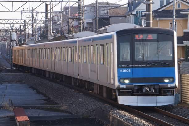 2017-12-23 東武61605F 普通柏行き
