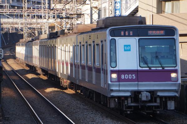 2017-12-25 メトロ8105F 中央林間行き