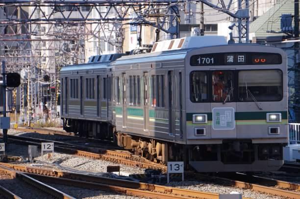 2017-12-25 東急1501F 蒲田行き