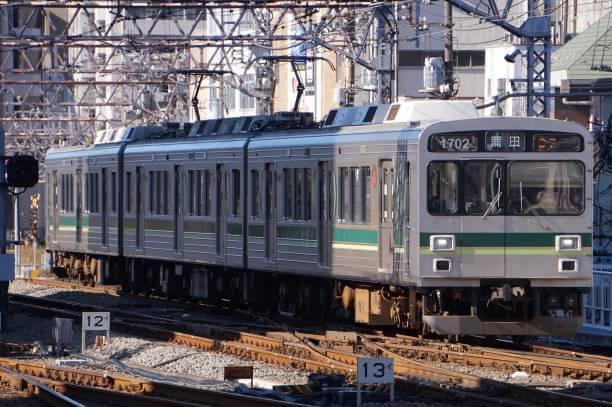 2017-12-25 東急1502F 蒲田行き