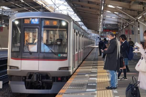 2017-12-25 東急5102F 各停渋谷行き