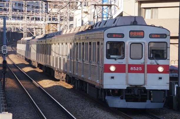 2017-12-25 東急8625F 急行中央林間行き