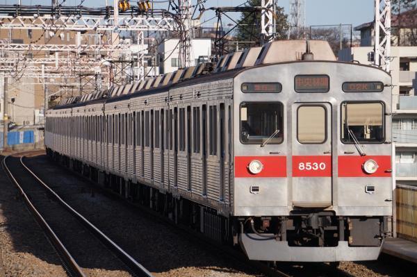 2017-12-25 東急8630F 急行中央林間行き