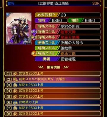 直江兼続23 8凸